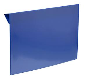 Pallkrageficka A5L i 0,30 hård blå + 0,16 glaskl.
