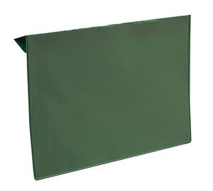 Pallkrageficka A5L i 0,30 hård grön + 0,16 glaskl.