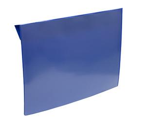 Pallkrageficka A4L baksida 0,30 hård blå framsida i 0,16 klar