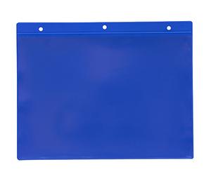 Magnetficka A5L, 235x170+15 mm i 0,30 hård blå + 0,16 glaskl.