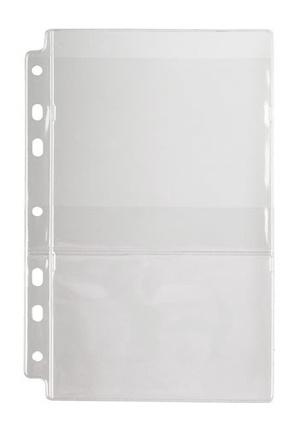 [Utgående] Ficka 2-fack CD A4 PVC glas