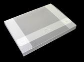 Portfölj A4 PP 0,70 transparent cristaline Levereras plano. Monterat mått 240 x 320 x 30 mm.