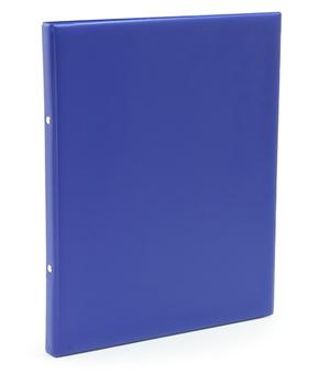 [Utgående] Pärm A4 pp blå utan ficka 25mm rygg, 16 mm r-mek 21-70-21