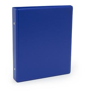 Pärm A5 pp blå utan ficka 40 mm rygg, 30 mm r-mek 21-70-21