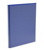 Pärm A4 pp blå med ficka 25 mm rygg, 16 mm r-mek 21-70-21 plac. på sid 3
