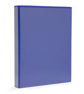 Pärm A4 pp blå med ficka 40 mm rygg, 30 mm r-mek 21-70-21 plac. på sid 3
