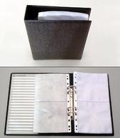 Pärm CD A5 pp svartmel. inkl. 10 fickor 1335500T