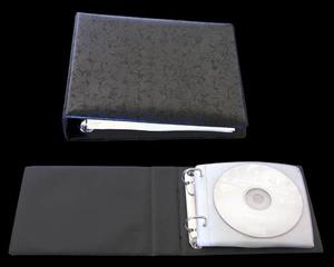 Pärm CD A6 PP svart inkl 5 st 1226500T