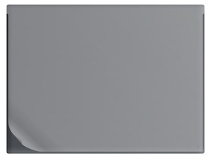 Skrivunderlägg A1 PP svart med heltäckande klaff