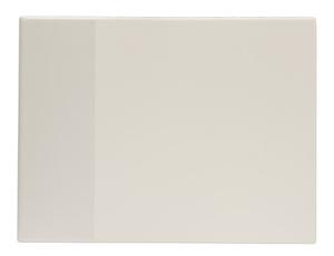 Skrivunderlägg A2 PP vit med klaff för almanacka samt skummad undersida