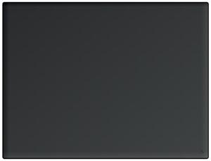 Skrivunderlägg A2 PP svart med skummad undersida. Utan klaff.