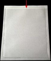 Självhäftande fodral A4 PP glasklar. permanent 10-pack